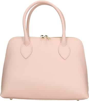 Chicca Borse Borsa a Mano Donna in Pelle Made in Italy 31x22x10 Cm