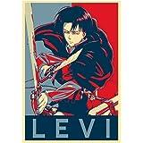 """Poster Attack on Titan """"Propaganda"""" Levi - A3 (42x30 cm)"""
