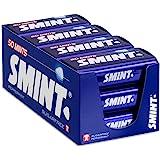 SMINT XL Peppermint – 12 blikjes met 50 krachtige pepermuntjes, suikervrije pastilles voor een frisse adem