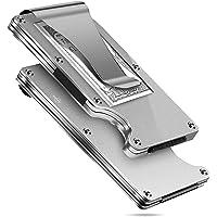 MUCO Porta Carte Di Credito Portafoglio Protezione RFID Metallo Leggero Viaggiare Quotidianamente Uomo Donna Sicurezza…