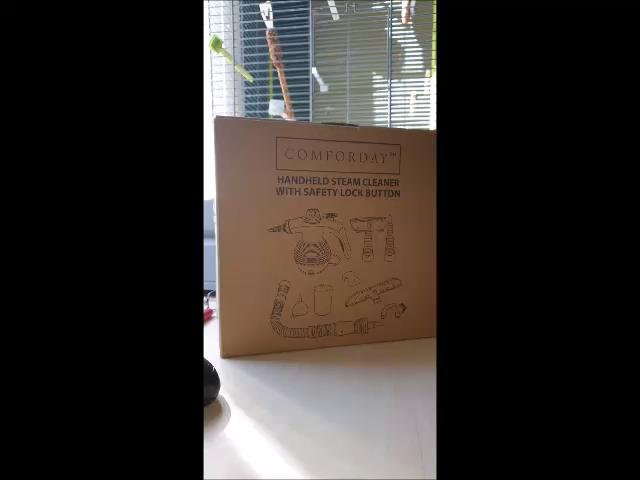 Comforday Limpiador Vapor Mano, Limpiador de Vapor Portátil de ...