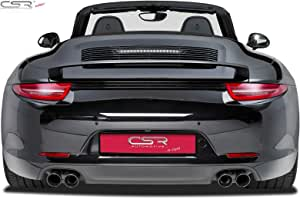 981 Boxster Porsche 991 981C Cayman 99155923590 PORSCHE Black Rear Lid Badge