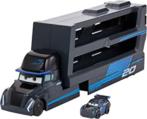 Disney Cars GNW35 - Disney•Pixar Cars Mini Racer Transporter Sortiment mit Mini Fahrzeug