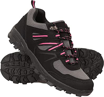 Mountain Warehouse McLeod Womens Walking Shoes - Lightweight, Warm, Durable, Breathable, Mesh Lining, Sturdy Grip, Rubber Outsole & Phylon Midsole - for Running & Gyming