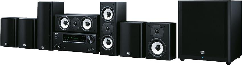 Onkyo 7.1 Heimkinosystem, HT-S9800THX-B, 175 Watt/Kanal, Multiroom, THX Kinoklang, WLAN, Bluetooth, Streaming, Musik Apps (Spotify, Tidal, Deezer), Front USB/HDMI/Audio in, Schwarz, 1500449
