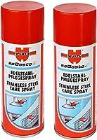 Würth paslanmaz çelik bakım spreyiyle Sabesto 400ml tasarruf fiyatı için ikili paket