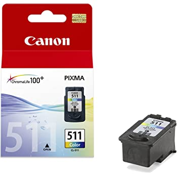 Canon CL-511Ink Cartridge for printers (Cyan, Magenta, Yellow, Pixma iP/MP/MX/Pro, Blister, Inkjet)