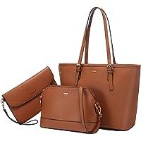 LOVEVOOK Handtasche Damen Gross Handtaschen Set Taschen groß Handtaschen für Frauen Damen-henkeltaschen Shopper…