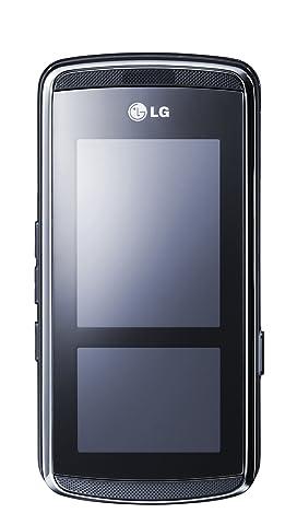 LG KF600 Venus schwarz-silber Handy