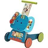 Labebe - Trotteur Bebe, Marcheur, Chariot de Marche, ChariotEnfant, TrotteurBebeFilleGarcon, TrotteurVoiture Bleu Éléphan