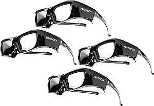 4x Hi Shock 3d Bt Pro Black Diamond Aktive 3d Brille Computer Zubehör