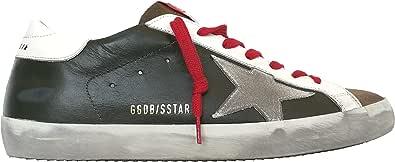 Golden Goose Scarpe Sneakers Uomo Vintage Superstar GMF00101.F000346.80309 Verde