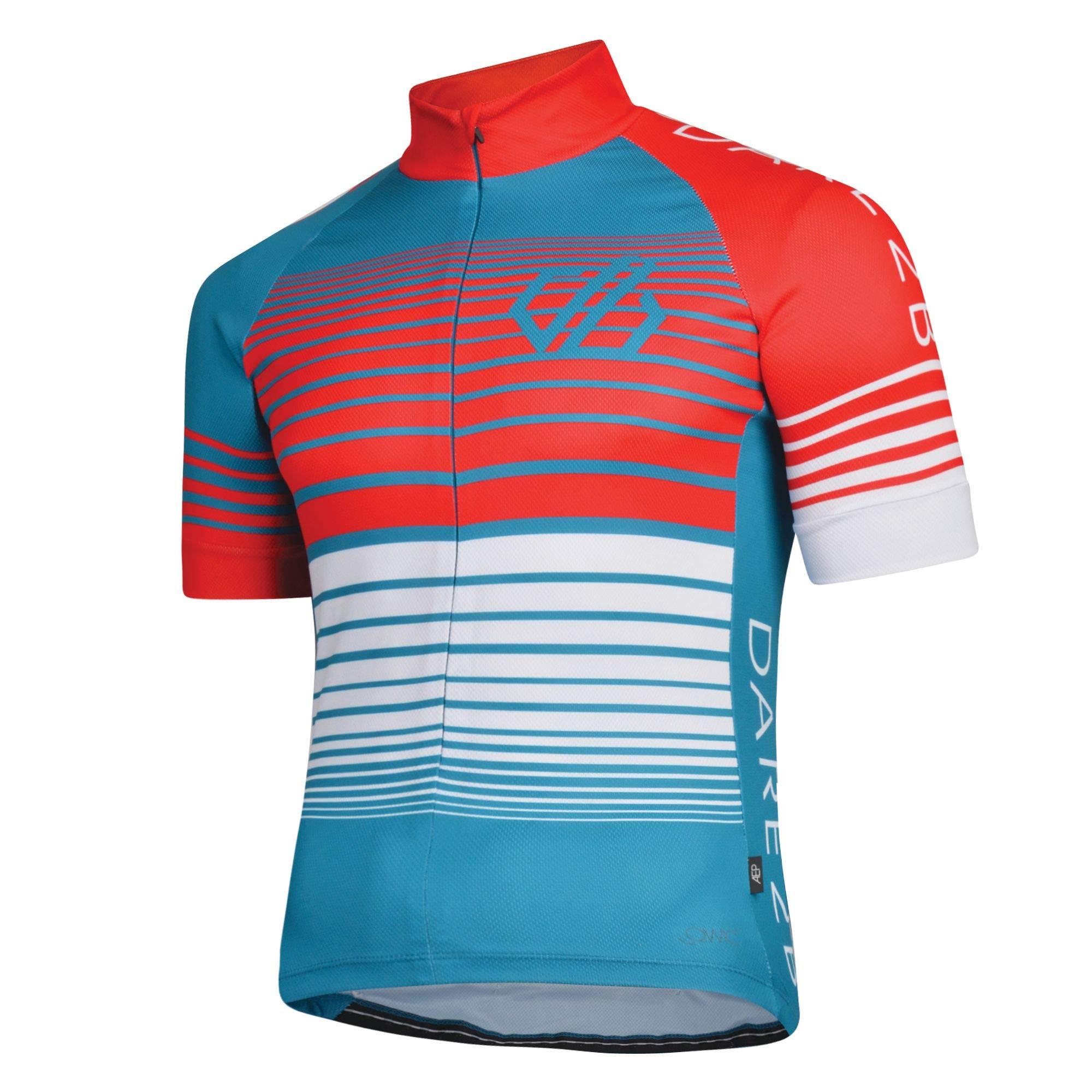 Dare 2b Herren AEP Clarify Ergonomic Lightweight Quick Drying Reflective Cycling