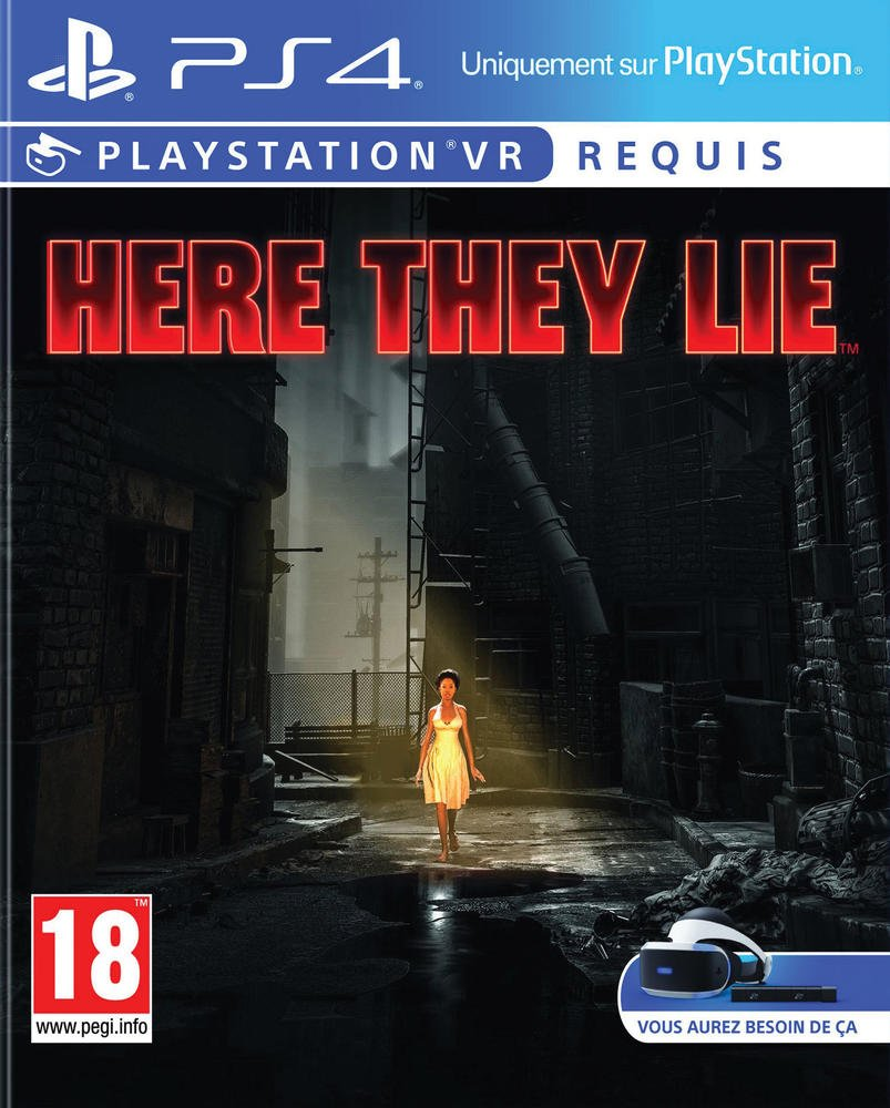 Here They Lie – Playstation VR