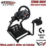 GT Omega Support de volant pour Logitech G29 G920 Thrustmaster T500 T300 T300 TX & TH8A, monture de levier de vitesses V1...