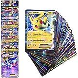 100 Stuks Pokemon-kaarten, Pokemon-kaarten, Pokemon-ruilkaarten, Kaartspel, Trainerkaarten, Pokemon-kaarten Game Battle Card,