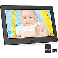 Digitaler Bilderrahmen 7 Zoll EastPoint Elektronischer Fotorahmen mit 32GB SD Karte, Hochauflösend IPS Bildschirm, Foto…