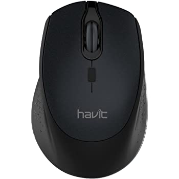 HAVIT Ratón Inalámbrico Mouse 2.4G Raton Inalámbrico Portatil 2000DPI con receptor USB, Raton para Macbook ,PC, Ordenador Portátil, Notebook, ...