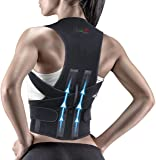 BOLD™ Unisex Magnetic Back Brace Posture Corrector Therapy Shoulder Belt for Lower and Upper Back Pain Relief, posture…