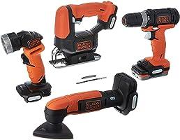 بلاك & ديكر جو باك مجموعة ادوات من 4 قطع - BDCK502C1