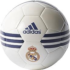 Adidas Real Madrid Football, Men's UK 5 (White)