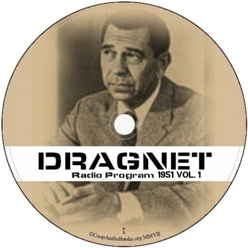 Dragnet Old Time Radio 1951 Vol.I FREE Radio-v1