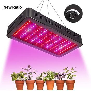 txvso 1200w led plantes l vent la lumi re plein spectre pour la serre et les hydroponiques d. Black Bedroom Furniture Sets. Home Design Ideas