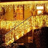Guirlande Lumineuse, Rideau Lumière, LED Etoilée, LED string light, LED Cordes, 216 LED 5M Guirlande d'Eclairage,Guirlande LE