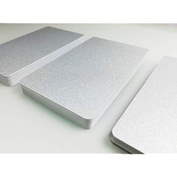100 Premium Plastikkarten//PVC Karten Schwarz gl/änzend 100 Rohlinge blanko NEU! 5-500 St/ück Kartendrucker