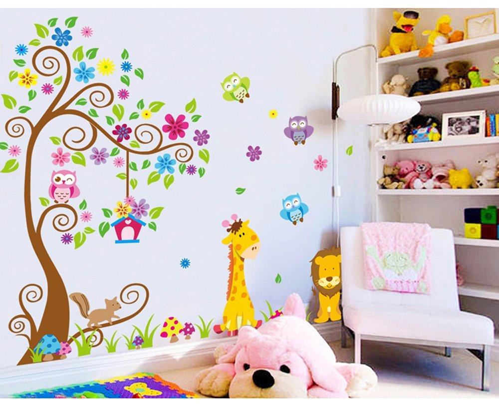 Decorazioni pareti bimbi adesivi murali bambini with - Adesivi murali ikea ...