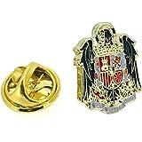 Gemelolandia - Pin de Solapa Águila de San Juan | Artículo Decorativo para Chaquetas Elegantes y Trajes | Condecoración | Pin