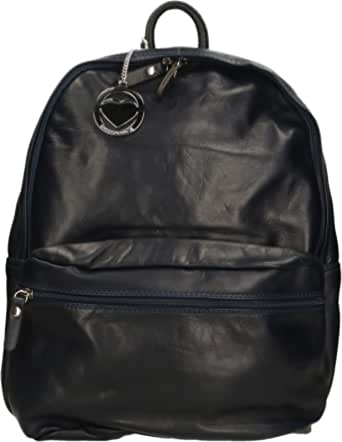 Chicca Borse Bag Borsa Zaino in Pelle Made in Italy 30x39x14 cm