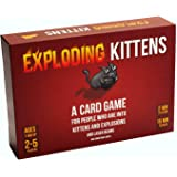 Asmodee Exploding Kattungar: A Card Game About Kittens and Explosions and Ibland getter, Engelska