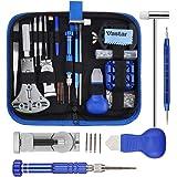 Vastar 177PCS Kit Riparazione Orologi, Kit Attrezzi Orologiaio per Fai da te Orologi, Utensili per Orologio Riparazione…