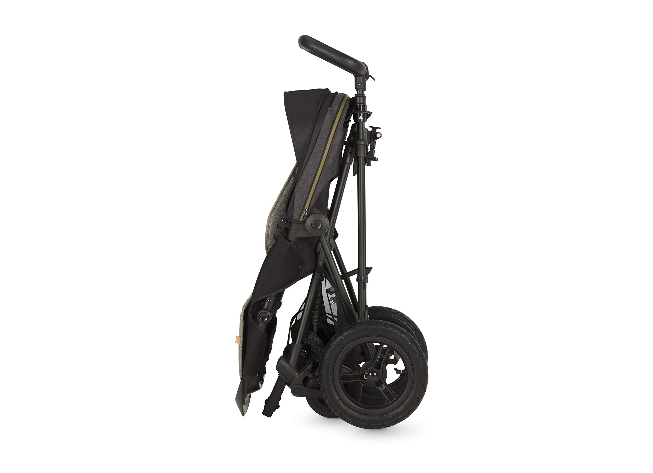 Micralite TwoFold Pushchair - Carbon. Suitable from 6 Months to 4 Years. Add Carrycot to Convert to Travel System Micralite QUICK FOLD - The TwoFold folds into one piece, with one movement. Once folded it free stands for ease of storage at home or out and about. To transport when not in use simply drag it along behind you. ALL-TERRAIN WHEELS - Large air filled back tyres, high mud guards and great ground clearance mean you can still go anywhere even with two in tow. You don't have to worry about getting a puncture either as the pneumatic tyres are lined with Kevlar - the same fibre used in bullet proof vests! WEATHERPROOF FABRICS - Dressed with signature Micralite high quality weatherproof fabrics, the hood of the TwoFold turns water just aswell as it deflects the sun's harmful rays. We also include a storm cover for more extreme weather - so nothing can stop you and your little one from getting out there. 6