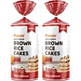 Pintola Organic Wholegrain Brown Rice Cakes - All Natural, MULTIGRAIN | 9 Wholegrain | NO Cholesterol | NO Sugar/Salt | Soy a