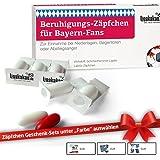 Beruhigungs-Zäpfchen® für Bayern-Fans | Lakritz-Zäpfchen für FCB-Fans zur Einnahme bei Niederlagen | Dortmund, Schalke & Fußball-Fans Aufgepasst witzige Fanartikel & Geschenke
