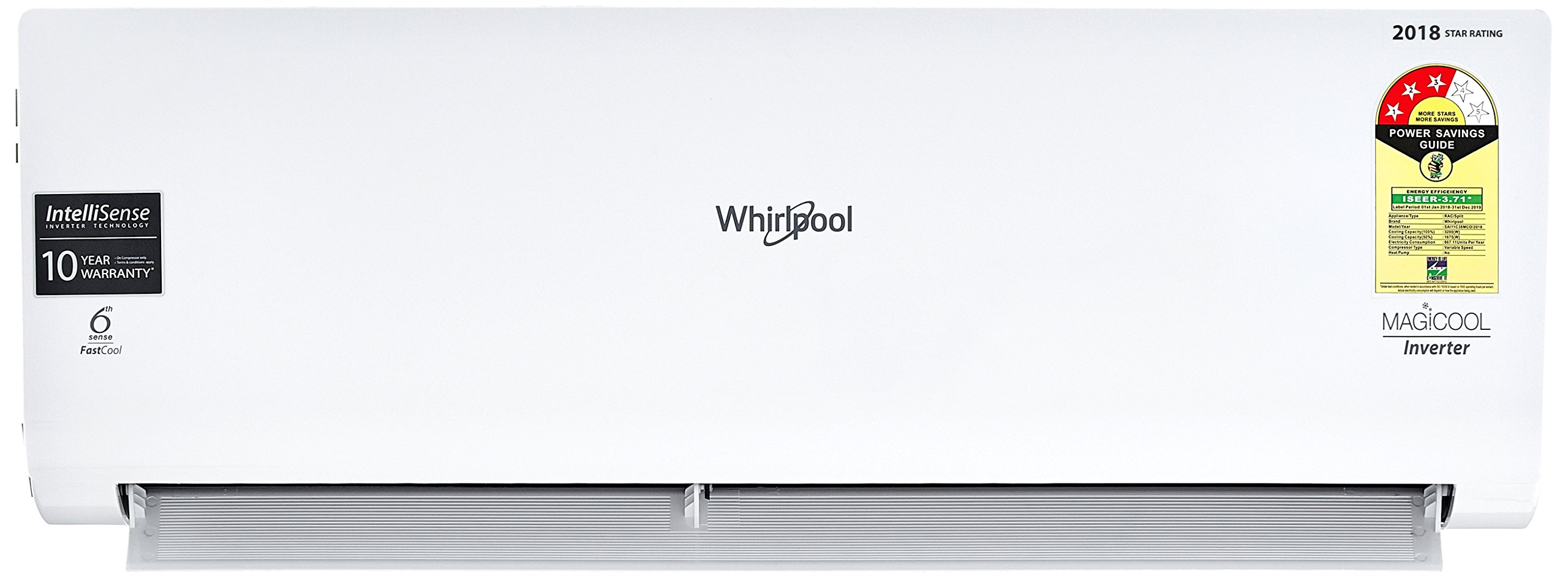 Whirlpool 1 Ton Inverter Split AC