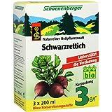 Schoenenberger Schwarzrettich naturreiner Heilpflanzensaft, 3x200 ml Lösung
