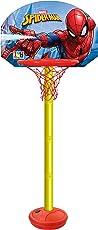 Marvel Spiderman Height Adjustable Shooting Champ Basketball Set for Kids (Colors May Vary, 8.9060544679e+012)