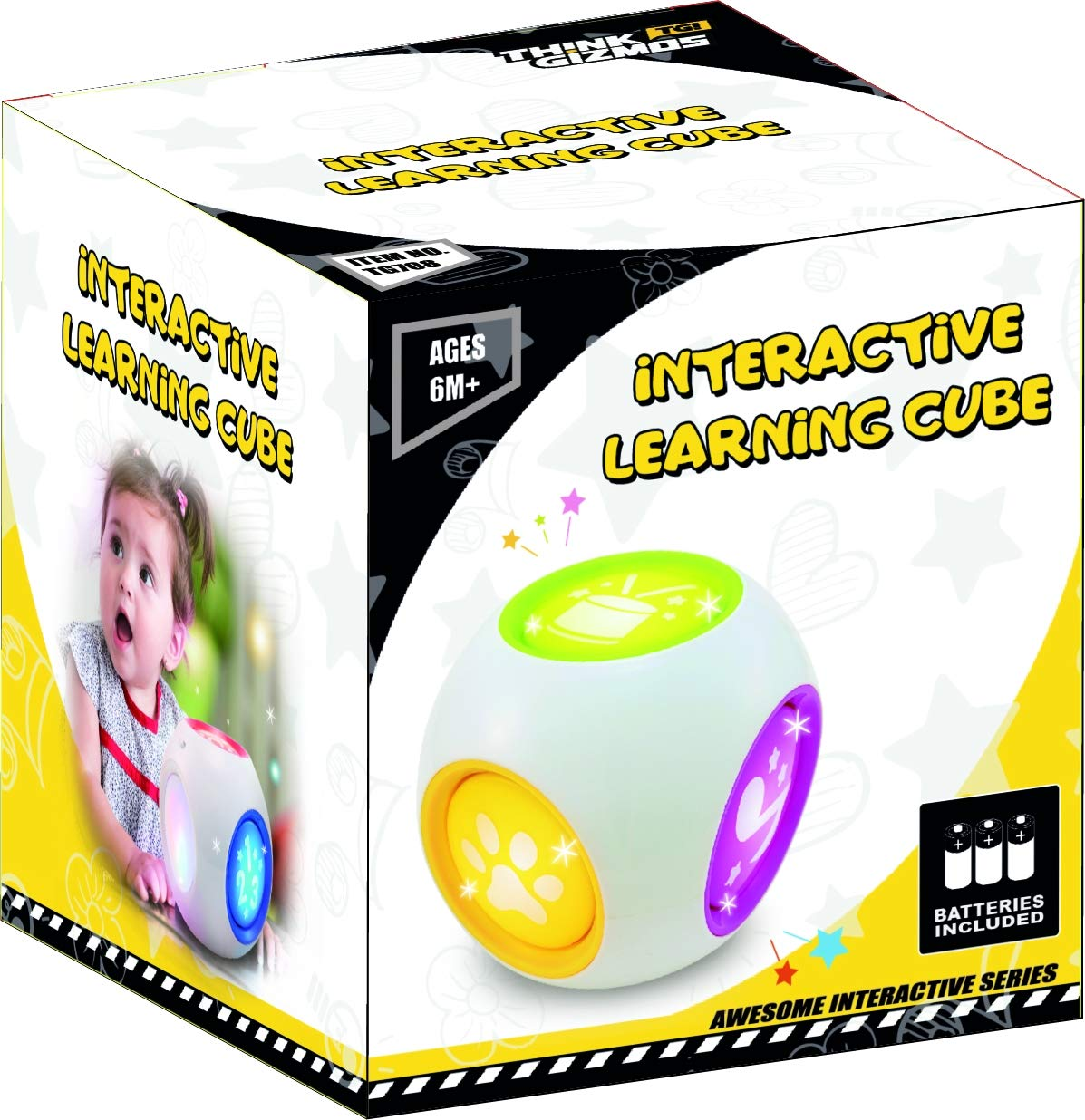 TG708 - Interactive Learning Cube - UK Quality Fun Gadgets ...
