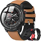 Smartwatch, smartwatch voor heren, digitaal horloge, calorieverbruik, sporthorloge, heren, hartslagmeter, smart-armband, slaa