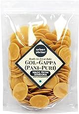 Urban Platter Ready-to-Fry Dry GOL Gappa (Pani Puris), 1Kg