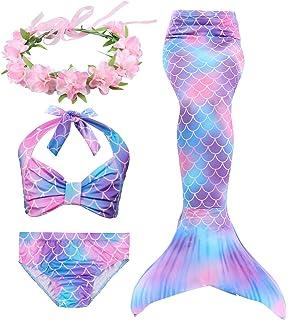 Disney Princess Ariel M/ädchen Schwimmen Kost/üm
