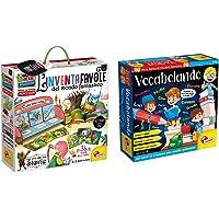 Liscianigiochi Montessori L'Inventafavole del Mondo Fantastico, 72644 & Lisciani Giochi- Vocabolando Piccolo Genio…