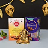 Cadbury Celebration Chocolates Gift Pack Box with Ganesha Idol Showpiece Ganesh Statue for Home Diwali Decoration/Gifts…