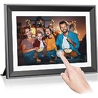 32GB WLAN Digitaler Bilderrahmen 10 Zoll, Rokurokuroku Elektronischer Bilderrahmen IPS Touchscreen, Unbegrenzte…