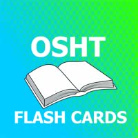 OSHT Flashcards 2018 Ed