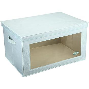 MEE'LIFE Storage Aufbewahrungsboxen mit Fenster Große Mega