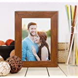 "Painting Mantra Synthetic Table / Wall Photo Frame for Home Décor (4"" x 6"", Dark Brown)"